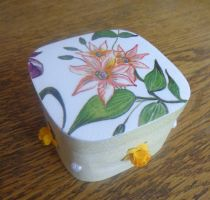 Little box with flowers by SteamJo