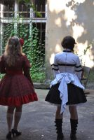 Lolita Dresses Backside by Kutty-Sark