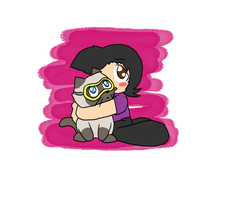 Sly and Scuba steve by Chaos55t