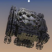 The Borg --Cube-- Derelict by Gipgm2