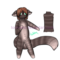 Anthro Adopts: Tabby 50pnts by toomoko