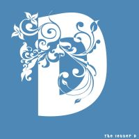 The letter D by Frozzare