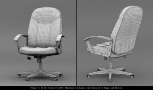 Office Chair Comp WF by EtherealProject