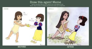 Draw this again: 2008 x 2014 by Andrayah