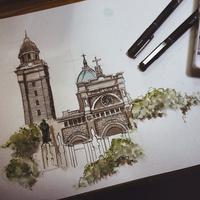 Manila Cathedral by nters
