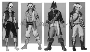 Pirate Concepts by AiynSedai