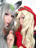 Pokey Action!  as Yuzuruha with Valeera Sanguinar by Sayuri-Shinichi