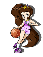 Mara basketball by CrystalisZelda