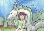 Spirited away by axellie