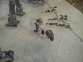 Star Wars Exhibition - Hoth's battle 4 by Garci-The-Raccoon