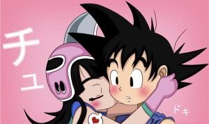 Goku and ChChi- True love by Beastwithaddittude