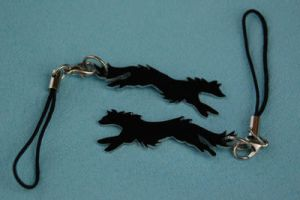 Wolf cell charms sale by grygon
