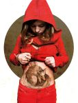 Red riding hood and the worlf -final version- by elia-illustration