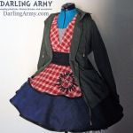 Supernatural Sam Winchester Cosplay Pinafore by DarlingArmy
