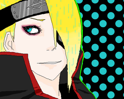 Deidara all cool like by Meash
