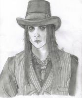 Wednesday 13 sketch by Aerithflowergirl5678