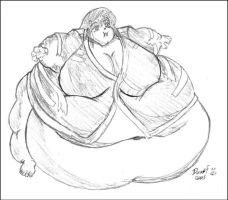 Fattened Ayeka - WG - Trade by dwarfpriest