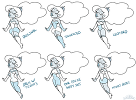 Diamond Outfit Designs by PrincessCallyie