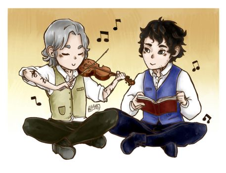 Another Chibi Heronstairs ~ by RoItsSomething