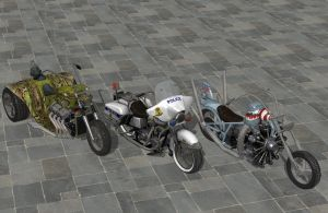 'Ride to Hell: Retribution' Bikes Pack 2 XPS ONLY! by lezisell