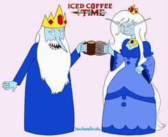 Iced Coffee Time by VoiceActressKurutta