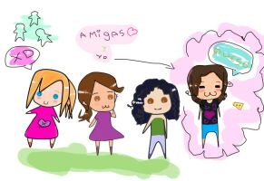 mis amigas xd by valithax12