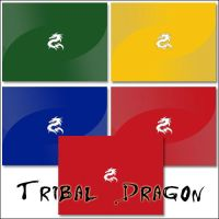Tribal Dragon by HOLYSOLDIER