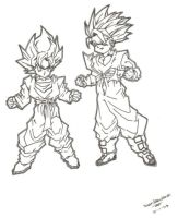 goten and trunks by JSin21666