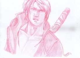 Dante sketch by Reenave