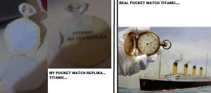 TITANIC POCKET WATCH REPLICA by MarKZ92