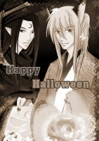 LSK : Happy Halloween Sepia by Michron