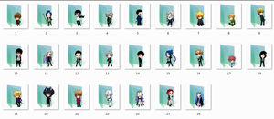 Katekyo Hitman Reborn Folder Icons by Ginokami6