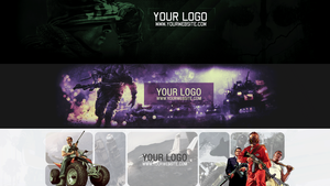 FREE - YouTube One Channel Banner Pack by KHKreations