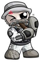 Captain Price Chibi by RedPawDesigns