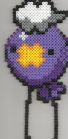 Drifloon Bead Sprite by WeaselTea