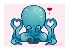 Octopus LUV by suki-red