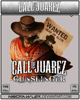 Call Of Juarez Gunslinger Icon by Ni8crawler