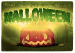 Hallowen Postcard (Full free tutorial) by liransz