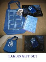 TARDIS gift set by DragonsAndDreamscape