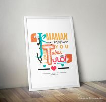 Je T'aime Maman by sk-design