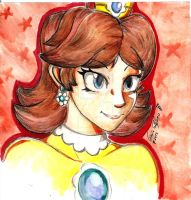 Princess Daisy by SteveShadow