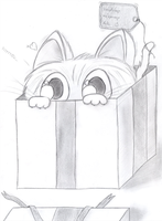 Cute Pet With Big Eyes by najt93