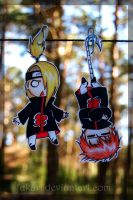 Dei Sasori hanging paperchilds by Fukari