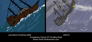 Comparing The Mary Read by Land-Man-Sam