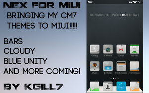 Nex for MIUI by kgill77