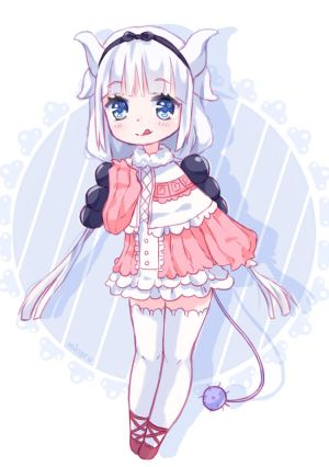 FA Kanna/Loli dragon (Speedpaint) by Minaru-Art