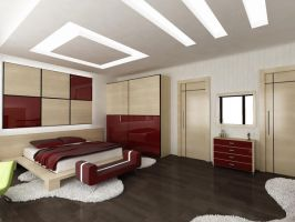 Bedroom _Ukraine Project_ by emrahozer