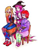 Nachtwald: Some Witches by clemon