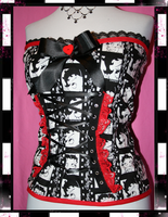 DIY Betty Boop Corset by zeeness
