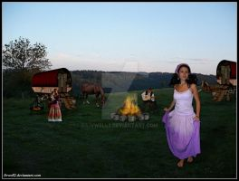Gypsy Campsite by livwell2